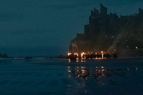 Downhill Beach trong phim
