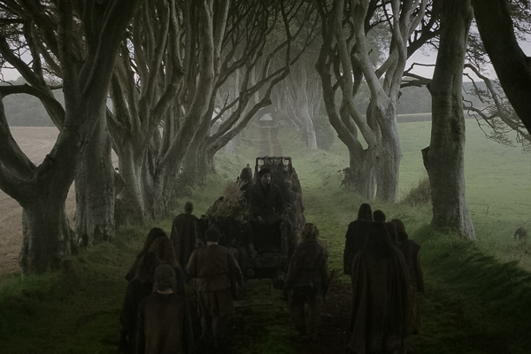 The Dark Hedges trong phim