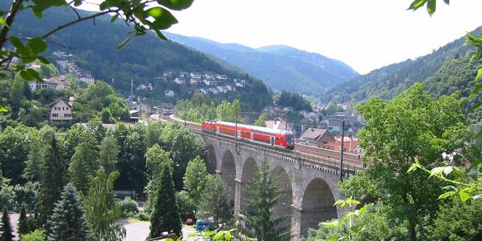 Schwarzwaldbahn railway
