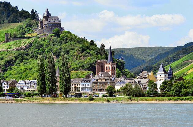 thung lung Rhine